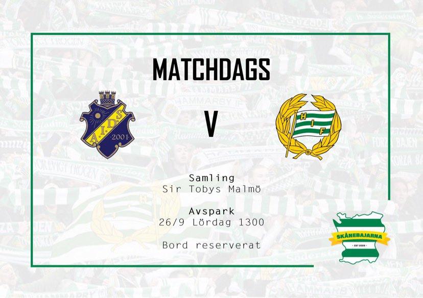 Derby mot AIK 26/9